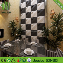 sound absorbing easy to clean 3d wall paper for bedroom