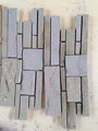 Yellow sandstone gray sandstone mesh back mosaic wall/floor building tile