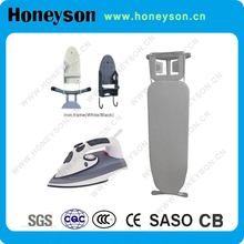 Closet ironing board for storage in cabinet hotel equipment