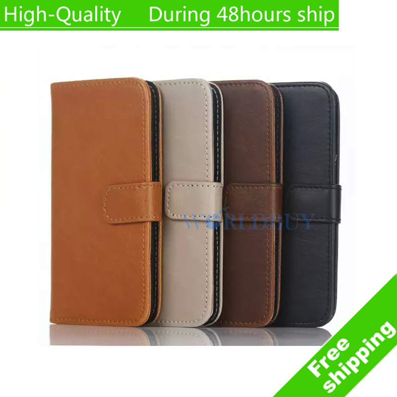 For Apple Case iPod Touch 6 Touch 5 High Quality Retro style Leather Wallet Case with Card Slot Free Shipping