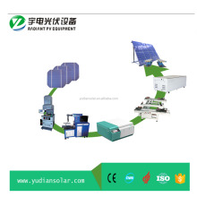 Radiant Solar Panel Manufacturing Machines Pv Module Assembly Line