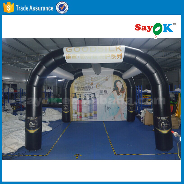 Outdoor advertising event inflatable misting tent