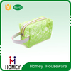 Hot Sale mesh pvc Cosmetic Bags , Lace Fashion PVC Make up Bag