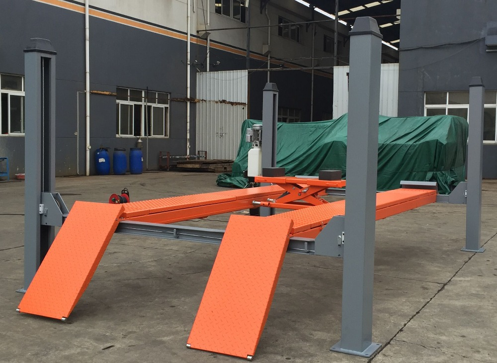 Aa4c 4 Post Low Ceiling Car Lift Table Buy Car Lift