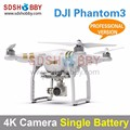 DJI Phantom3 Four-Axle Flyer 4K High Definition Camera Quadcopter Professional Version with Single Battery