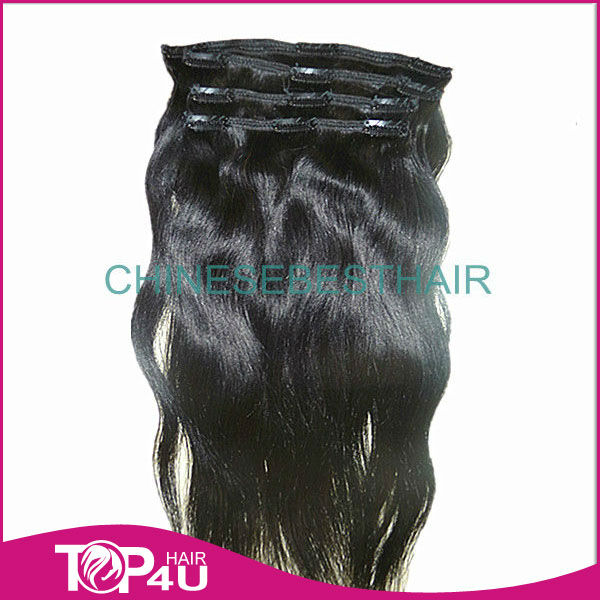 brazilian hiar natural color natural curl bohemian human hair clip in hiar