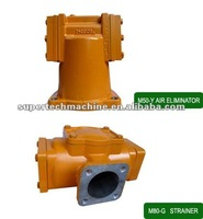 Filter for LC flow meter for gasoline/diesel oil metering