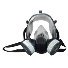 Double Filter Full Face Gas Mask Disposable Full Type