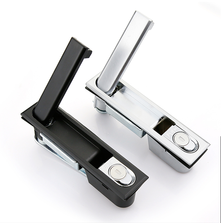 Push Button Electrical Cabinet Swing Handle Lock