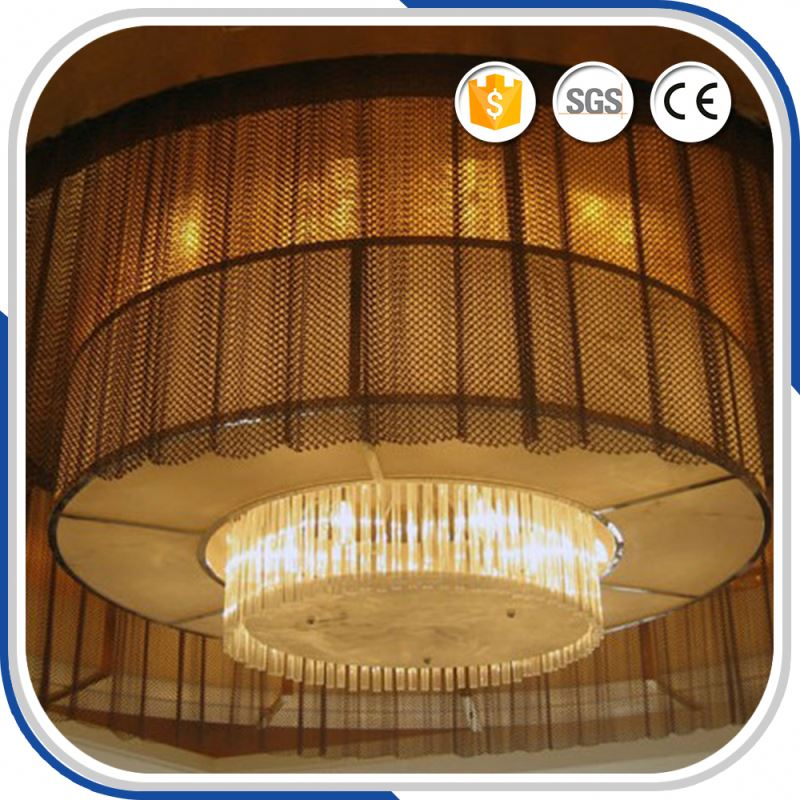 Top Level New Cascade Mesh Curtain/Metal Coil Drapery For Room Divider