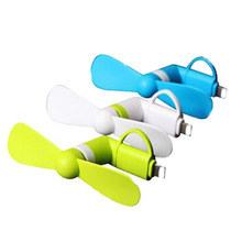 Micro USB Cooling Fan Mute Mini Cooler Fans For Android Cell Phone