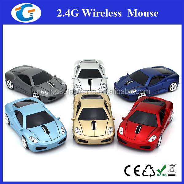 Cool ! Fashion Design Custom Car Shape Wireless Mouse