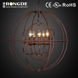 Decoration pendant light indoor and outdoor DG6094-5OR