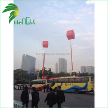 Pink Cube Inflatable Cold Air Advertising Balloon
