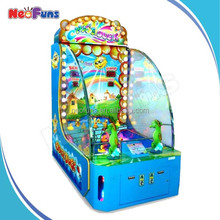 Popular And High Income Win Tickets Coin Operated Chase Duck Shooting Game Mchine