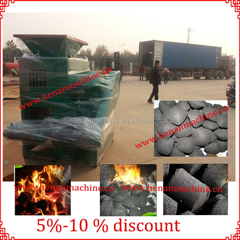 2-30TPH smokeless coal briquettes press machine with 99.9% briquetting rate