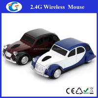 2.4G USB Optical Wireless Classic Car Design Mouse