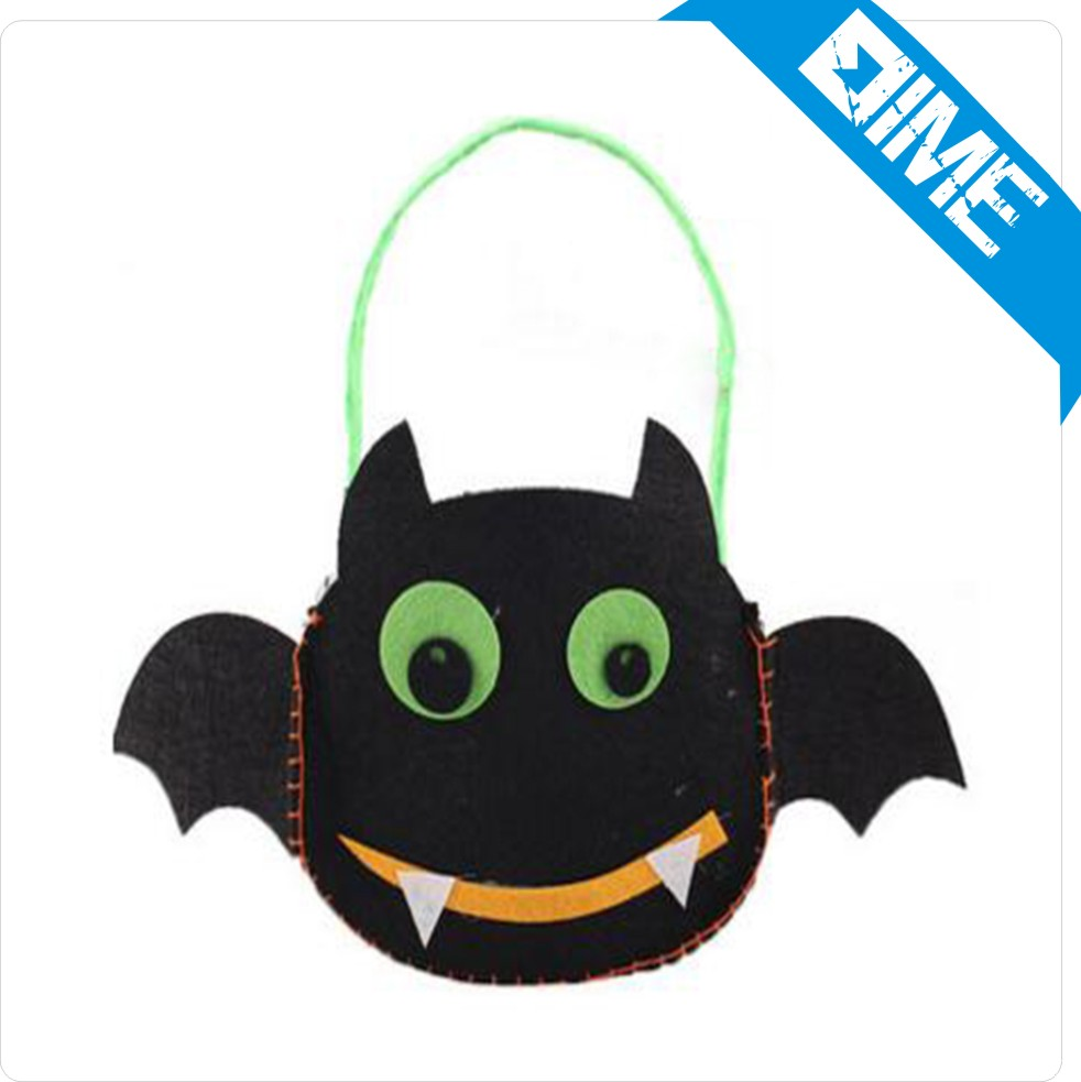 Ecologic Bag Cotton Sleeping Bag Light Up Halloween Buckets Cotton Foldable Shopping Handbag