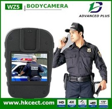 Turkish Menu 1080P police camera 2015 police video body worn camera for law enforcement