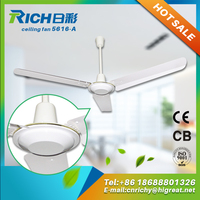 brand new timer setting hot sell radiator high rpm ceiling fan