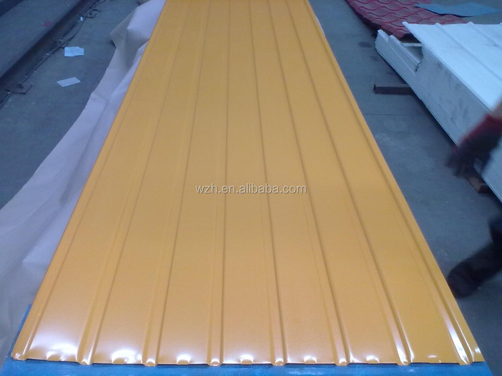 roofing a shed / modular house prepainted corrugated gi color roofing sheets / china supplier fiber roofing sheets