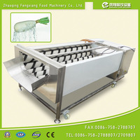 GL-380 Commercial Vegetable and Fruit Washing Machine, Carrot Potato Washing and Peeling Machine with CE approved