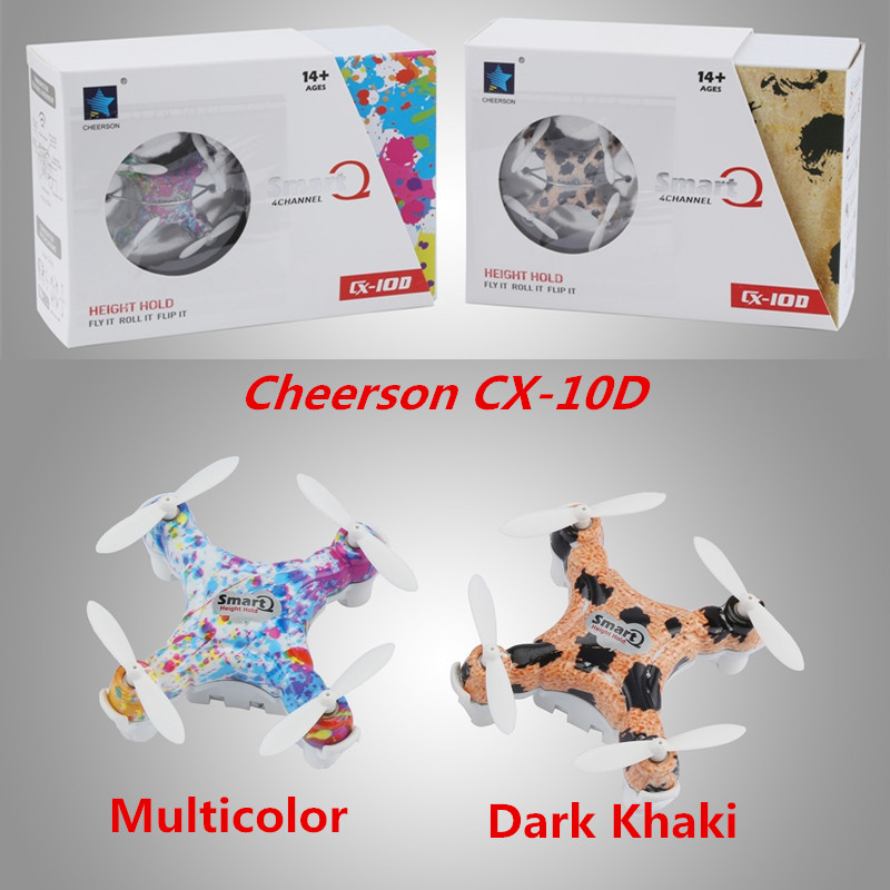 Cheerson CX10D CX-10D Mini Drone 2.4GHz RC Drone 4CH RC Helicopter 6-axis dron RC Quadcopter VS JJRC H20 JJRC H8 Cheerson CX-10