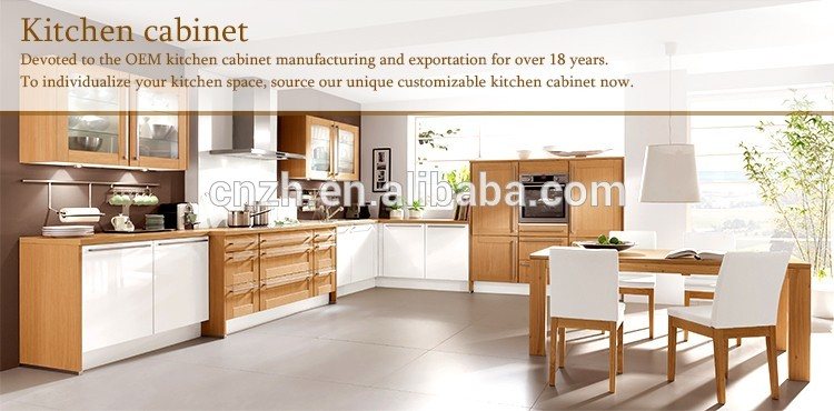 Factory Price Melamine Mdf Plywood High Glossy Red Kitchen Cabinet ...
