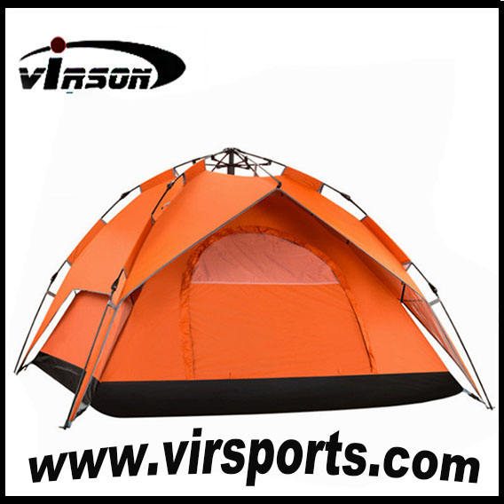 outdoor automatic tents double hiking tents lover kids tents