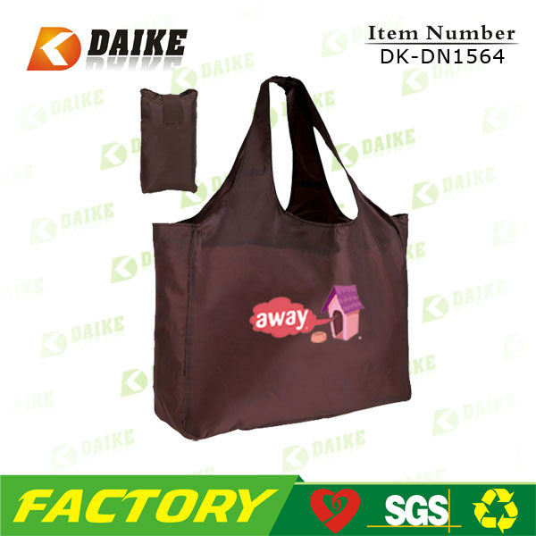 Factory Supply Polyester Promotional Hot Sale reuseable grocery bag