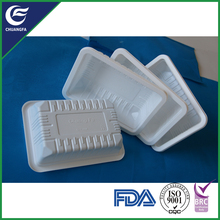 Hot sale cake mushroom packing plastic tray
