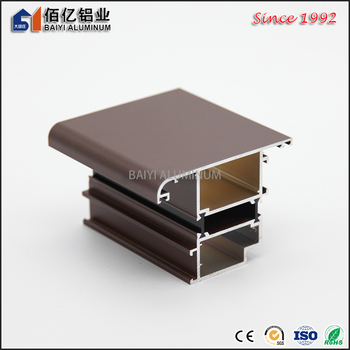 Superior Custom Products Wooden Aluminum Window Fiber Net Aluminum Windows