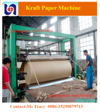 new technology in China 3200mm paper straw machine head box, brown kraft paper making machine price