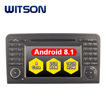 WITSON Android 8.1 car audio system multimedia for MERCEDES-BENZ ML320 ML350 W164 GL X164 GL320 gps car dvd player