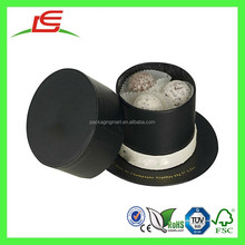 Q1055 Cheap Unique Paper Hat Shaped Candy Box, Romantic Homes And Hat Box Favors