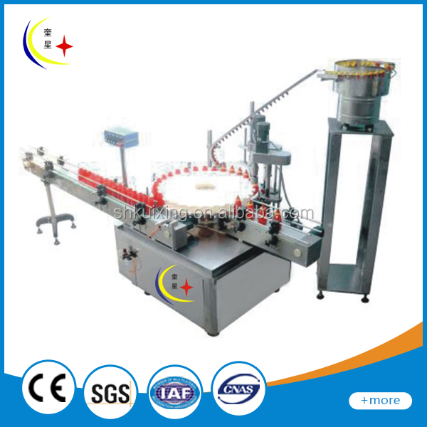 YXT-A New full auto aluminum screw cap sealing machine