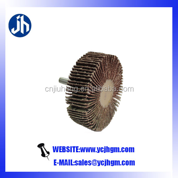 karbosan flap wheel with shaft