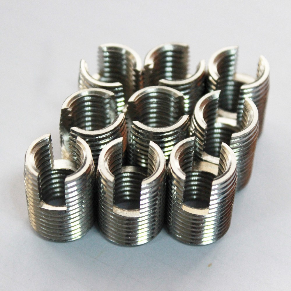 302 stainless steel self tapping threaded insert