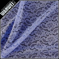 light blue new design high quality beautiful knitting textiles lace for wedding dresses skirts lace fabric