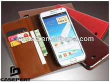 PU Leather Wallet Case for Samsung Galaxy Note 3/4/5, for Samsung galaxy note wallet case