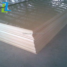 Vacuum forming 1mm to 12mm thick transparent clear moldable ABS Plastic Sheet low price for sale