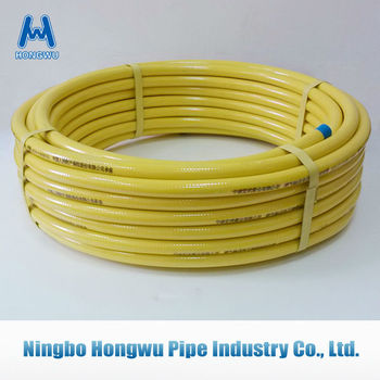 DN15 CSST Yellow Gas pipe conntector