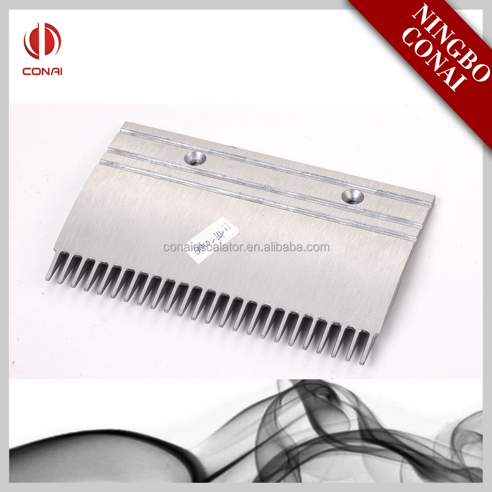 CNACP-067 Escalator spare parts comb plate for Oem,24 teeth