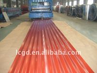 long span color coated aluminium zinc corrugated roofing sheet