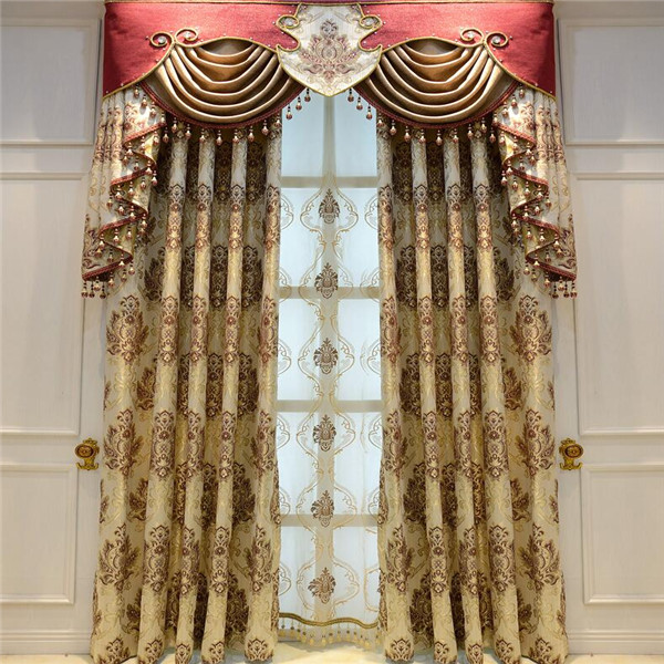 luxury ready made thermal blackout curtains non-toxic