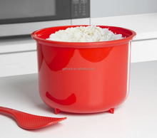 Microwave rice steamer plastic microwave rice cooker