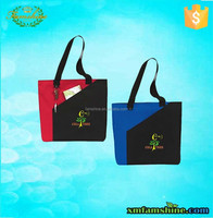 promotional 600d polyester tote shopping bags