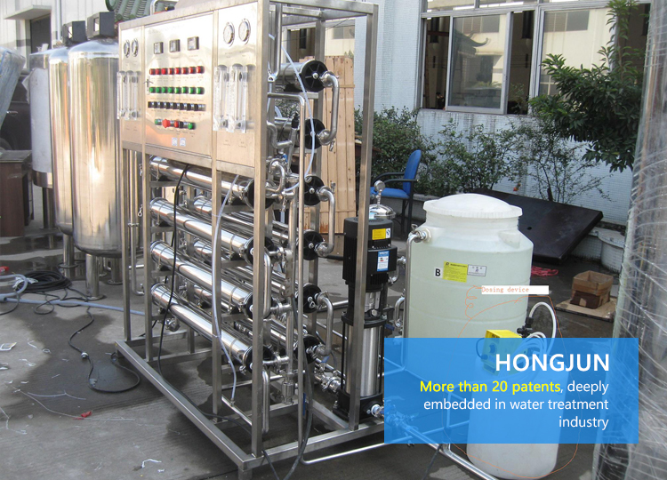 reverse osmosis water purifier controller industrial backwash system ro water filter machine plant