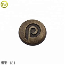 High quality custom male female jeans metal rivet button for clothing