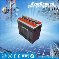 EverExceed 200ah flooded OPzS solar battery 24v